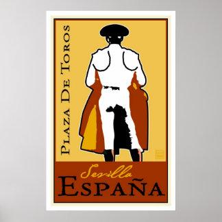 Travel Spain Poster
