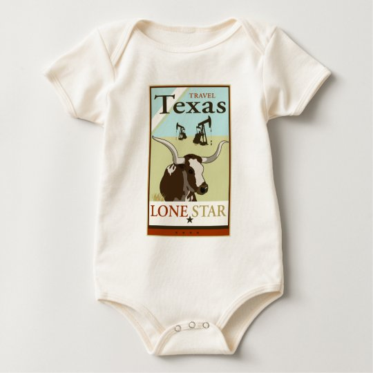 Travel Texas Baby Bodysuit