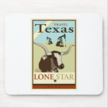 Travel Texas Mouse Pad