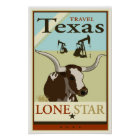 Travel Texas Poster