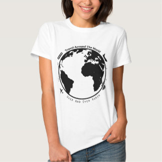 Travel the globe t shirt