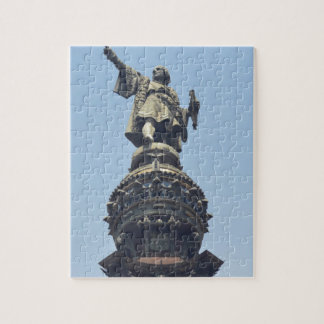 Travel the World - Columbus Pointing out to Sea Jigsaw Puzzle