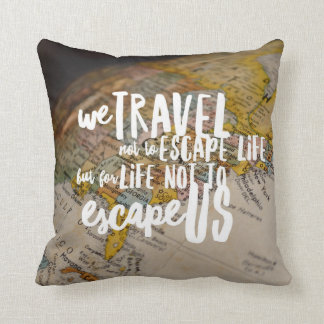 Travel the World Cushion