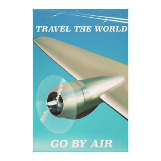 Travel the world - Go by Air. Canvas Print