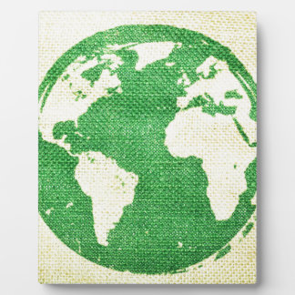Travel the world photo plaques