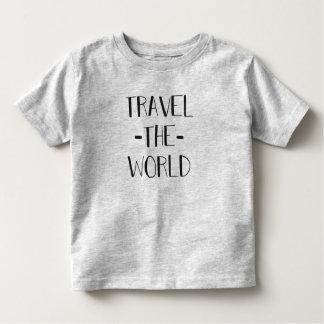 Travel The World Toddler T Toddler T-Shirt