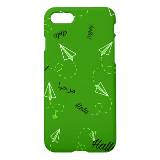 Travel Themed Phone Cases-Green iPhone 8/7 Case