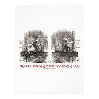 Travel Through The Looking Glass (Wonderland) 21.5 Cm X 28 Cm Flyer