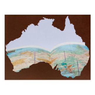 Travel To Australia Postcard