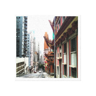 travel to hong kong gallery wrap canvas