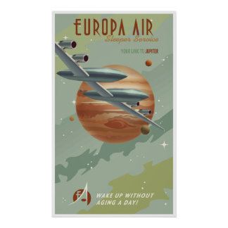 Travel to Jupiter Poster
