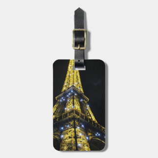 Travel to Paris Bag Tag