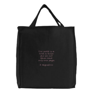 Travel Tote Embroidered Bags