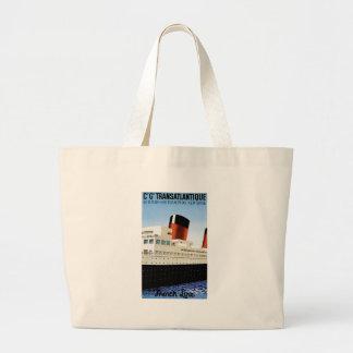 Travel Tote - Vintage Add Jumbo Tote Bag