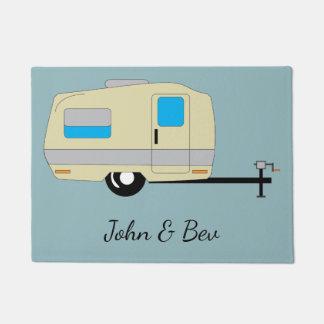 Travel Trailer RV Camping Lifestyle Doormat