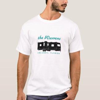 Travel Trailer RV Silhouette Graphic T-Shirt