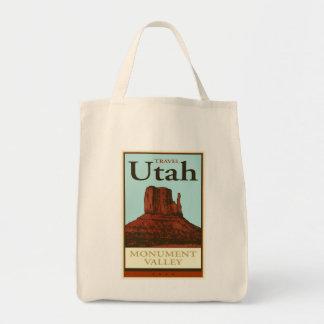 Travel Utah Grocery Tote Bag