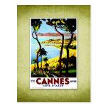 Travel Vintage Poster Cannes France