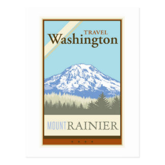 Travel Washington Post Card