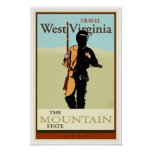 Travel West Virginia Poster