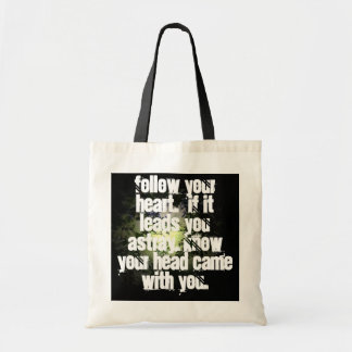 Travel wise budget tote bag