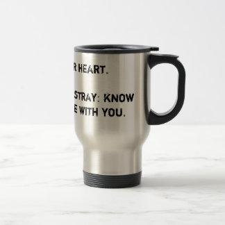 Travel wise travel mug