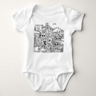 Travel with Pen Baby Bodysuit