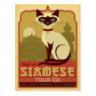 Travel with Siamese Tour Co. Postcard