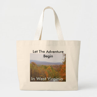 Travel WV Large Tote