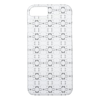 'Traveled' Black and White Pattern iPhone 8/7 Case
