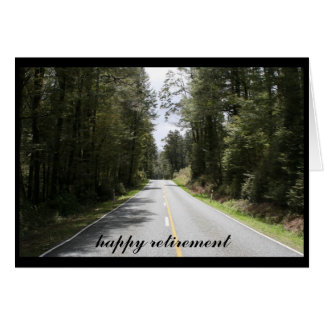 traveled roads greeting card