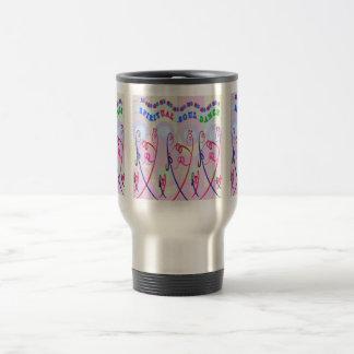 Traveler Mug  SPIRITUAL SOUL DANCE CARTOONS