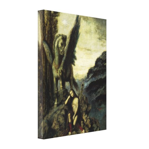 Traveler Poet by Gustave Moreau Canvas Prints