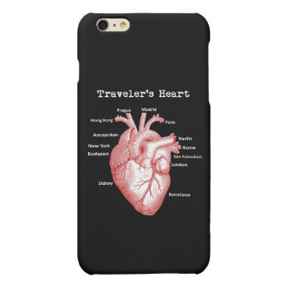 Traveler's Heart iPhone 6/6s Case Matte iPhone 6 Plus Case
