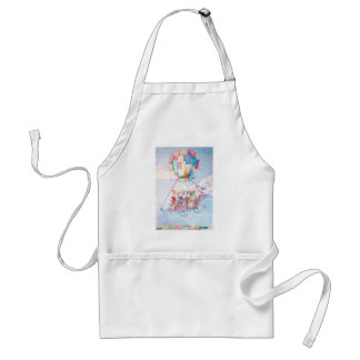 Traveling around the world aprons