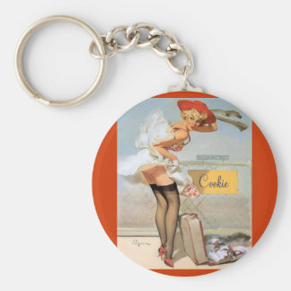 """Traveling """"Cookie"""" keychain"""