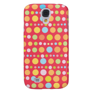 Traveling Dots 3 Samsung Galaxy S4 Case