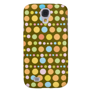 Traveling Dots 4 Samsung Galaxy S4 Cover