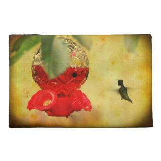 Traveling hummingbird travel accessory bag