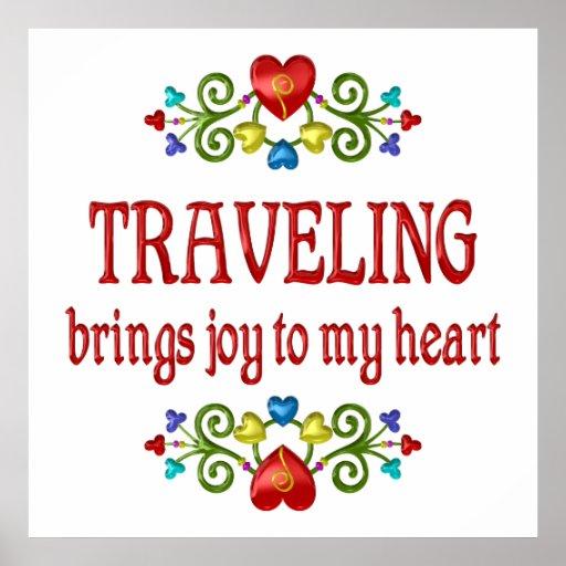 Traveling Joy Print