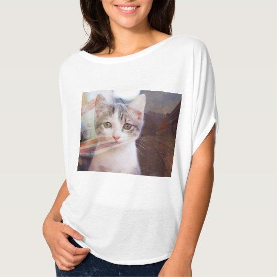 Traveling Kitty T-Shirt