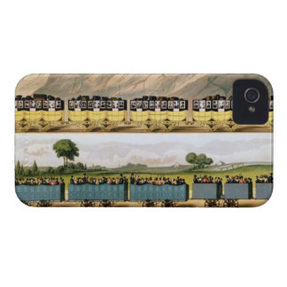 Traveling on the Liverpool and Manchester 2 iPhone 4 Case