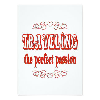 Traveling Passion Card