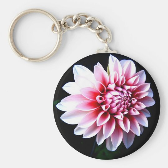 Travelled You Basic Round Button Key Ring