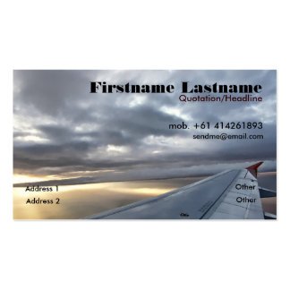 Traveller Business/Profile Card Business Card Templates