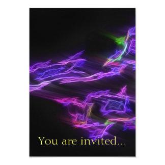 "Travellers 1 5"" x 7"" invitation card"