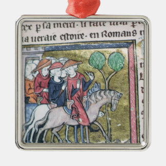 Travellers, from the Roman de Jules Cesar Christmas Ornament