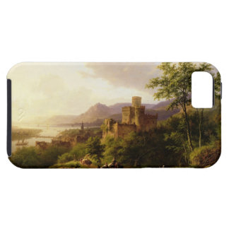 Travellers on a Path in an extensive Rhineland Lan iPhone 5 Case