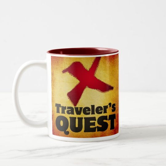 Traveller's Quest Coffee Mug
