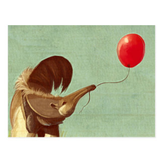 Travelling Balloon Post Card